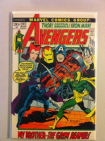The Avengers #102 Grim Reaper Aug 72 Very Good to Fine