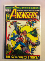 The Avengers #103 The Sentinels Sep 72 Good to Very Good Lt cover wear; staple rust; contents fine