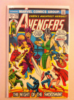 The Avengers #114 Night of the Swordsman Aug 73 Very Good Lt cover wear, creasing; contents fine