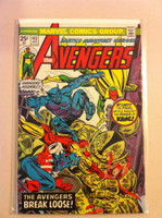 The Avengers #143 Kang Jan 76 Very Good to Fine