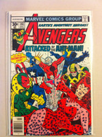 The Avengers #161 Attacked by the Ant-Man Jul 77 Fine