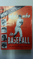 1965 Who's Who in Baseball Ken Boyer (Back Cover: Dean Chance photo) Very Good [Sl moisture; wear on both covers; contents fine]
