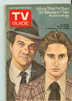 1973 TV Guide May 26 Streets of San Francisco (First Cover) Central Indiana edition Good to Very Good - No Mailing Label  [Sl wear on cover, loose at staples; contents fine]