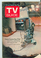 1970 TV Guide Jan 3 Here Come the 70s Eastern Washington edition Very Good - No Mailing Label  [Wear on cover, heavy crease; contents fine]