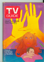 1970 TV Guide Feb 7 Bewitched North Carolina edition Very Good to Excellent - No Mailing Label  [Lt wear on cover; contents fine]