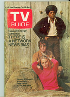 1970 TV Guide Feb 28 Mod Squad Pittsburgh edition Excellent - No Mailing Label  [Very lt wear, overall clean]