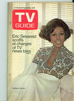 1970 TV Guide Mar 14 Diahann Carroll Chicago edition Excellent - No Mailing Label  [Sl wear on cover, crease on reverse; contents fine]