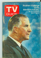 1970 TV Guide May 16 Spiro Agnew Montana edition Very Good - No Mailing Label  [Wear, scuffing and sl discoloration on cover; contents fine]