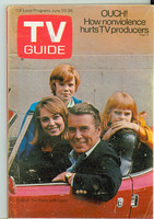 1970 TV Guide June 20 To Rome With Love North Carolina edition Very Good - No Mailing Label  [Wear on cover, creasing; contents fine]