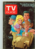 1970 TV Guide July 11 Beverly Hillbillies Southern Ohio edition Very Good - No Mailing Label  [Lt creasing, scuffing on cover; back cover dogear, contents fine]