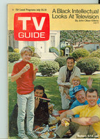 1970 TV Guide July 25 Mayberry RFD Eastern New England edition Excellent to Mint - No Mailing Label  [Very lt wear, overall clean]