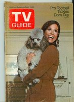 1970 TV Guide Sep 19 Mary Tyler Moore Show (First Cover) Missouri edition Very Good to Excellent - No Mailing Label  [Wear and creasing on both covers; contents fine]