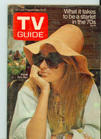 1970 TV Guide Nov 21 Starlet Sally Marr Central California edition Good to Very Good - No Mailing Label  [Sl wear, lt moisture on cover; contents fine]