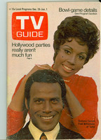 1970 TV Guide Dec 26 Julia NY Metro edition Very Good - No Mailing Label  [Tears at staples, scuffing on cover, contents fine]