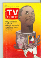 1971 TV Guide January 23 Flip Wilson Colorado edition Excellent - No Mailing Label  [Sl wear on cover; contents fine]