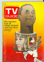 1971 TV Guide January 23 Flip Wilson Western Illinois edition Excellent - No Mailing Label  [Very lt wear on cover, ow clean]