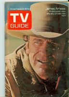 1971 TV Guide January 30 James Arness Western Illinois edition Excellent - No Mailing Label  [Lt wear, crn crease on cover, contents fine]