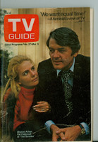 1971 TV Guide February 27 Hal Holbrook and Sharon Acker Cleveland edition Fair to Good - No Mailing Label