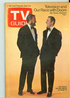 1971 TV Guide June 5 Rowan and Martin Iowa edition Excellent - No Mailing Label  [Very lt wear on cover, ow clean]