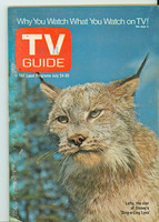 1971 TV Guide July 24 Lefty the Lynx Western Illinois edition Very Good to Excellent - No Mailing Label  [Lt wear on cover, ow clean]