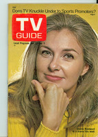 1971 TV Guide November 27 Joanne Woodward St. Louis edition Very Good to Excellent - No Mailing Label  [Sl loose at staples, ow clean]