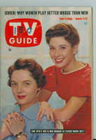 1960 TV Guide Jan 9 Father Knows Best New England edition Excellent to Mint - No Mailing Label