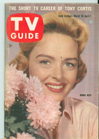 1960 TV Guide Mar 26 Donna Reed Illinois edition Very Good to Excellent - No Mailing Label  [Lt wear on cover, contents fine]