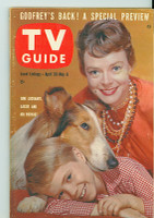 1960 TV Guide Apr 30 Lassie Chicago edition Excellent - No Mailing Label  [Very light wear on cover, overall clean]