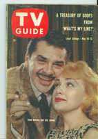 1960 TV Guide May 14 Ernie Kovacs and Edie Adams Eastern New England edition Excellent - No Mailing Label  [Lt wear on cover, contents fine]
