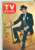 1960 TV Guide May 21 Bat Masterson Chicago edition Excellent - No Mailing Label  [Lt wear on cover, contents fine]