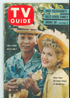 1960 TV Guide May 28 Hawaiian Eye Pittsburgh edition Excellent to Mint - No Mailing Label  [Very lt wear on cover, ow very clean]