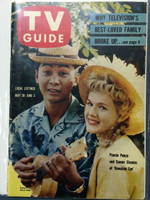 1960 TV Guide May 28 Hawaiian Eye Kansas City edition Excellent - No Mailing Label  [Lt wear on cover, very clean]
