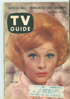 1960 TV Guide Jul 16 Lucille Ball Kansas City edition Very Good  [Sl moisture on cover, contents fine]