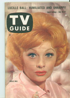 1960 TV Guide Jul 16 Lucille Ball Pittsburgh edition Excellent - No Mailing Label  [Lt wear on cover, contents fine]