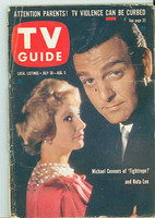 1960 TV Guide Jul 30 Tightrope Southern Ohio edition Very Good - No Mailing Label  [Wear on cover, creasing; contents fine]