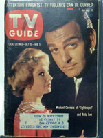 1960 TV Guide Jul 30 Tightrope Eastern New England edition Very Good  [Lt wear on cover and binding; # WRT on cover, puzzle worked]