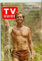1966 TV Guide Nov 26 Tarzan Eastern Illinois edition Very Good to Excellent - No Mailing Label  [Lt wear on cover; contents fine]