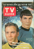 1967 TV Guide Mar 4 Star Trek (First Cover) Kentucky edition Very Good  [Sccuffing and lt crease on cover; label removed, contents fine]