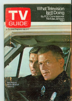 1969 TV Guide Jul 5 Adam 12 Central California edition Very Good to Excellent - No Mailing Label  [Wear and scuffing on cover, corner crease, ow clean; contents fine]