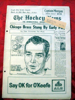 The Hockey News November 4, 1961 Excellent to Mint