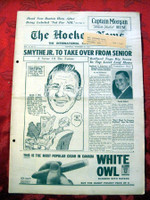 The Hockey News November 25, 1961 Excellent to Mint