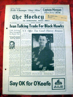 The Hockey News September 1962 Excellent to Mint