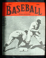 Baseball Magazine October 1939 Red Rolfe