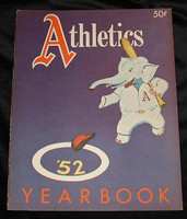 1952 Athletics Yearbook Excellent