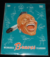 1962 Braves Yearbook Excellent