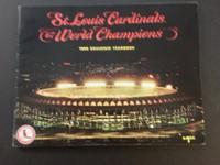 1968 Cardinals Yearbook (NL Pennant Winners) Excellent