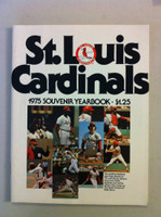 1975 Cardinals Yearbook (from the Red Schoendienst collection) Near-Mint Plus
