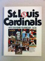 1975 Cardinals Yearbook - from the Red Schoendienst collection Near-Mint Plus