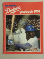 1974 Dodgers Yearbook Excellent to Mint