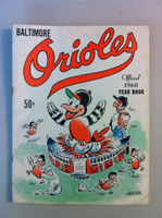 1960 Orioles Yearbook Good to Very Good